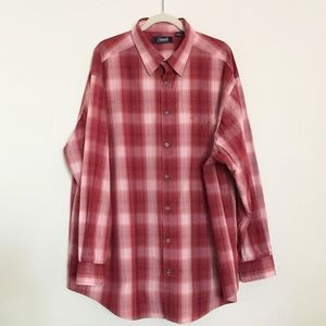 Plaid button up 2XB